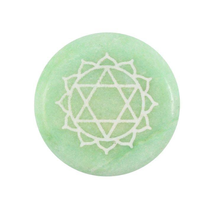 Chakra Meditation Medallion - Heart