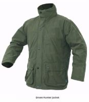 Jack Pyke Waterproof Hunter's Stealth Jacket in Green