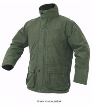 Jack Pyke Waterproof Hunter's Stealth Jacket in Green
