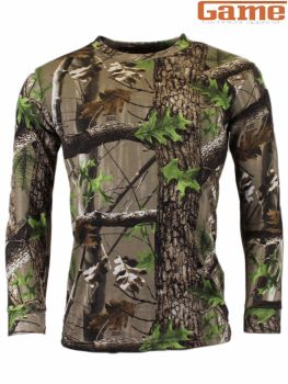 Game Trek Camouflage Long Sleeve T-Shirt Top