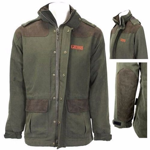 Game Aston Pro Waterproof Jacket in Olive Green
