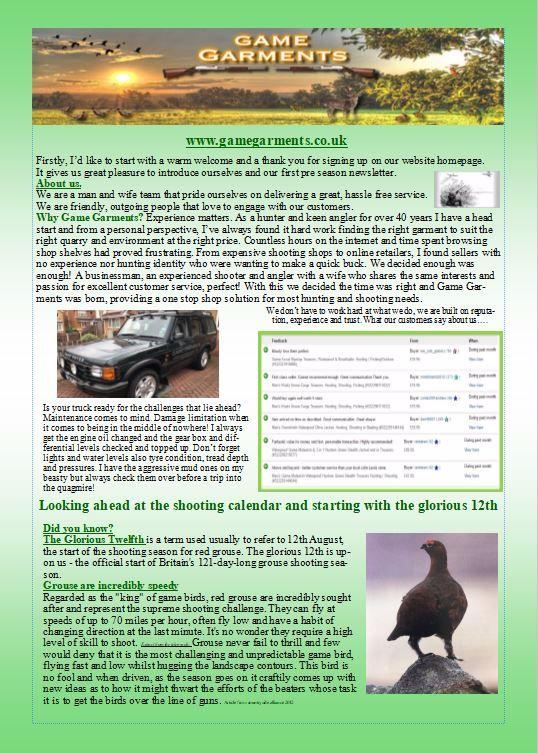 news letter 11