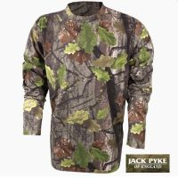 Men's Long Sleeve T-Shirt in EVO Camo from Jack Pyke