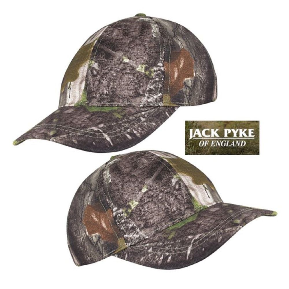 Jack Pyke Cotton Baseball Cap in Evolution Camouflage Pattern