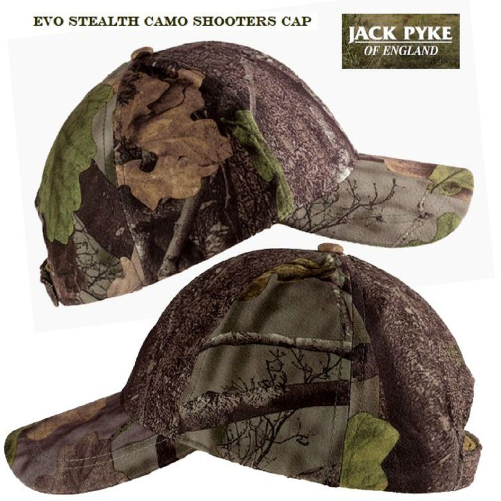 Jack Pyke Stealth Baseball Cap in Evolution Camouflage