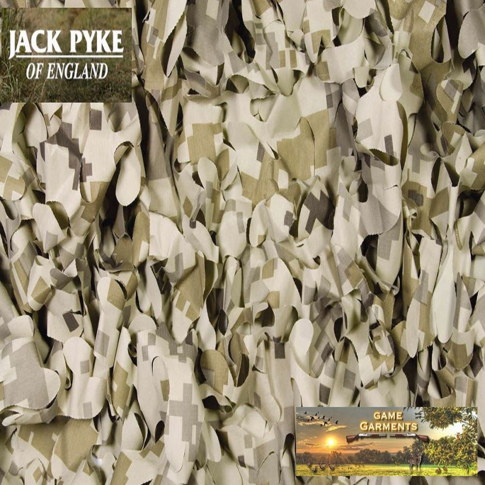 Jack Pyke Stubble And Reed Camouflage Hide Netting