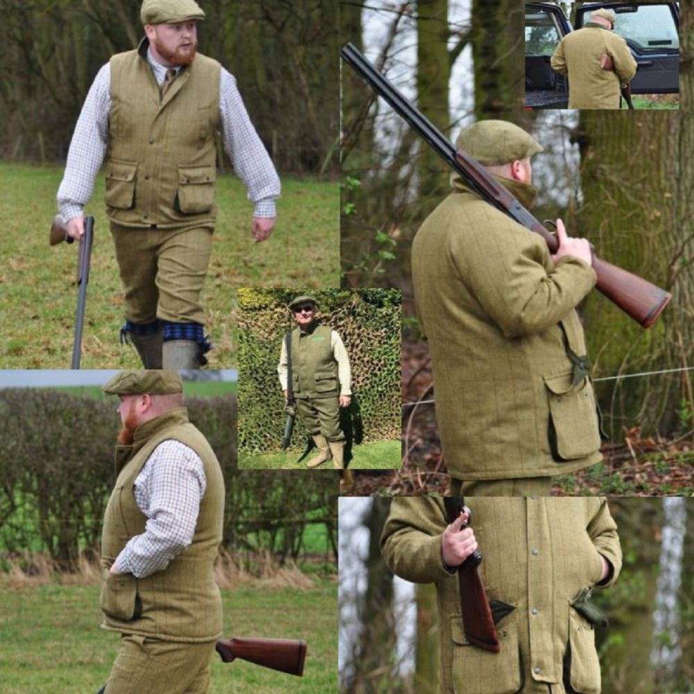 Tweed Shooting Clothing