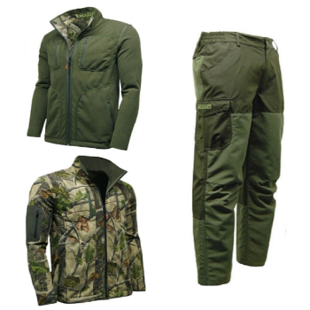 Game Pursuit Reversible Jacket & Excel Ripstop Trousers Set. Hunting / Beating