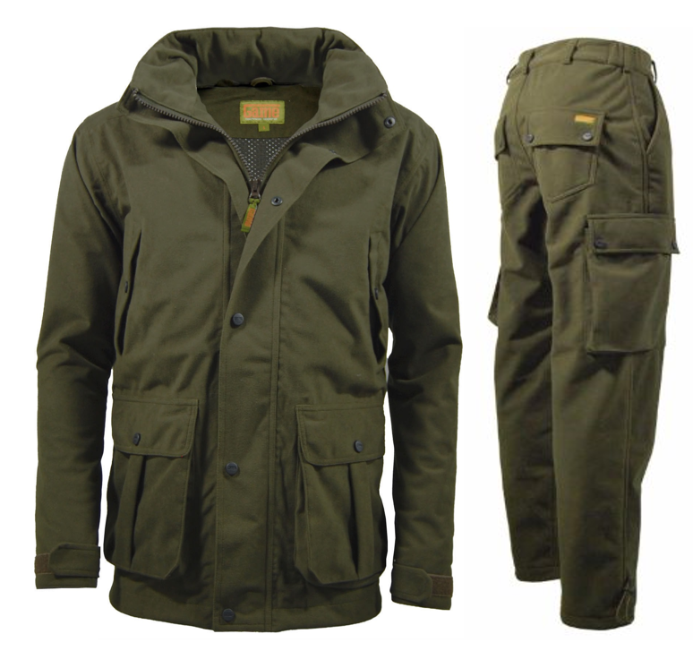 Game Hunters Green Waterproof Stealth Jacket and Trousers