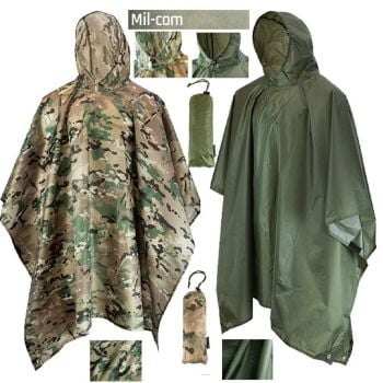 Waterproof Poncho from Mil-Com