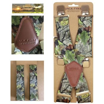Camo Elasticated Braces from Jack Pyke