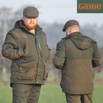 Game Hunter's Scope Waterproof Hunting Jacket