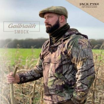 Jack Pyke Galbraith Evo Camouflage Waterproof Hunting and Shooting Smock