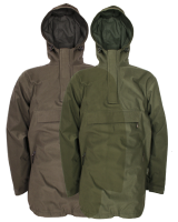 Jack Pyke Galbraith Waterproof Hunting and Shooting Smock in Brown or Green