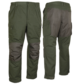 Jack Pyke Countryman Trousers, Heavy Duty, Cotton Canvas in Green