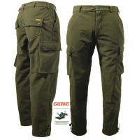 Game Waterproof Hunters Green Stealth Trousers