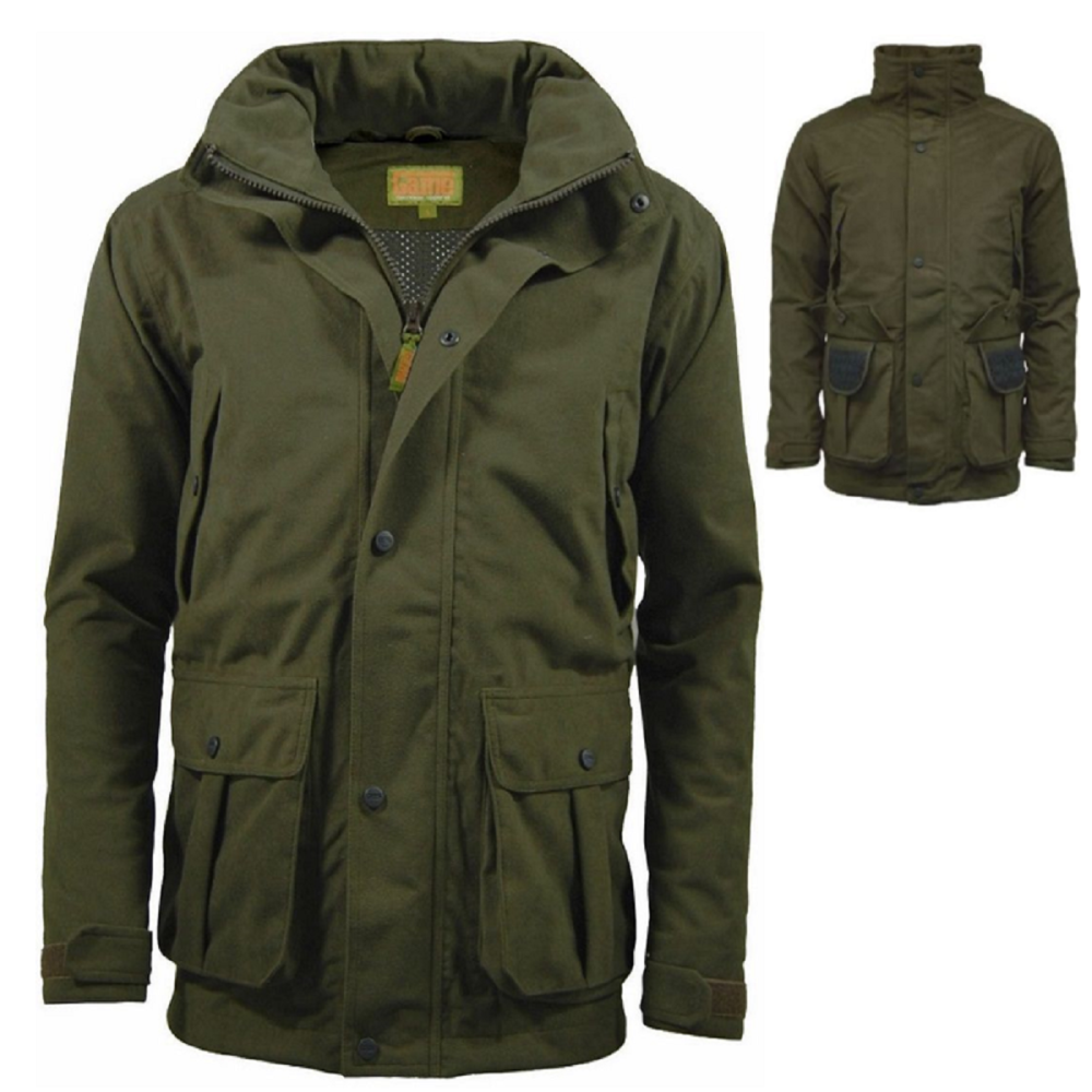 Game Hunters Green Waterproof Stealth Jacket