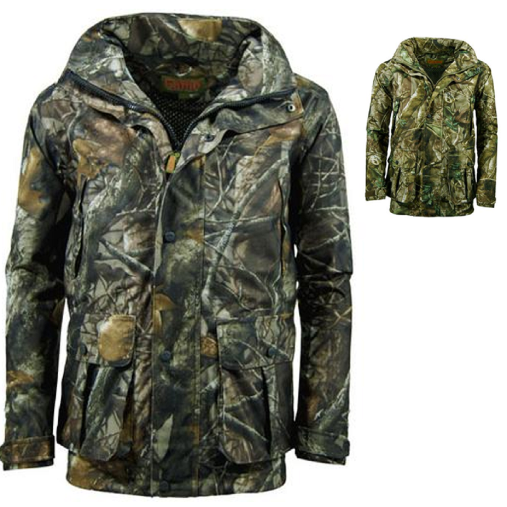Game Men's Camouflage Stealth Field Waterproof Jacket in Passion or Staidne