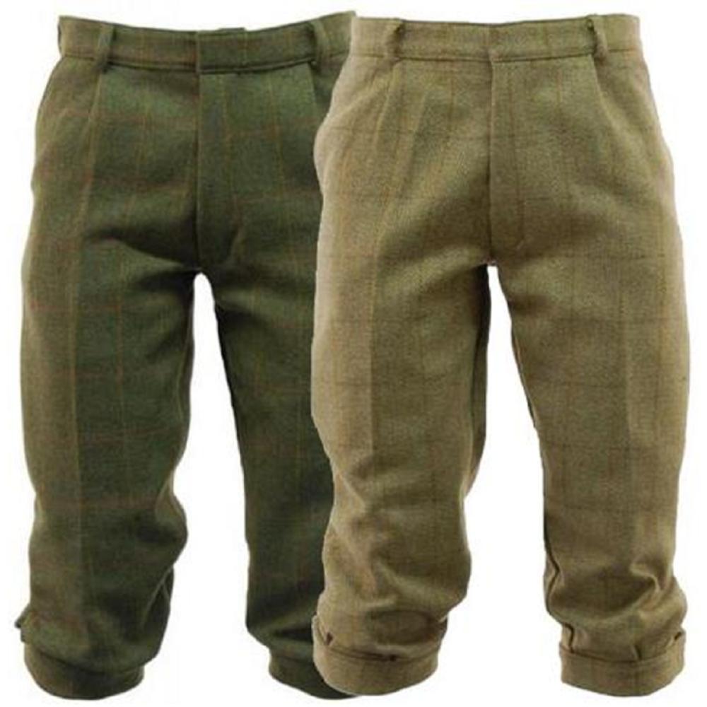 Men's Derby Tweed Breeks / Breeches / Trousers in Dark Tweed or Light Sage