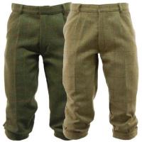 Men's Derby Tweed Breeks, Breeches, Trousers in Dark Tweed or Light Sage