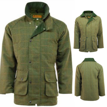 Men's Game Derby Tweed Jacket