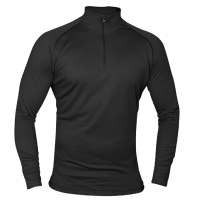 Men's Black Viper Tactical Mesh Tech Armour Stretch Top.