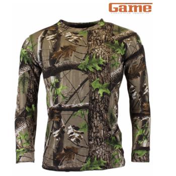 Game Trek Camouflage Long Sleeve T-Shirt Top