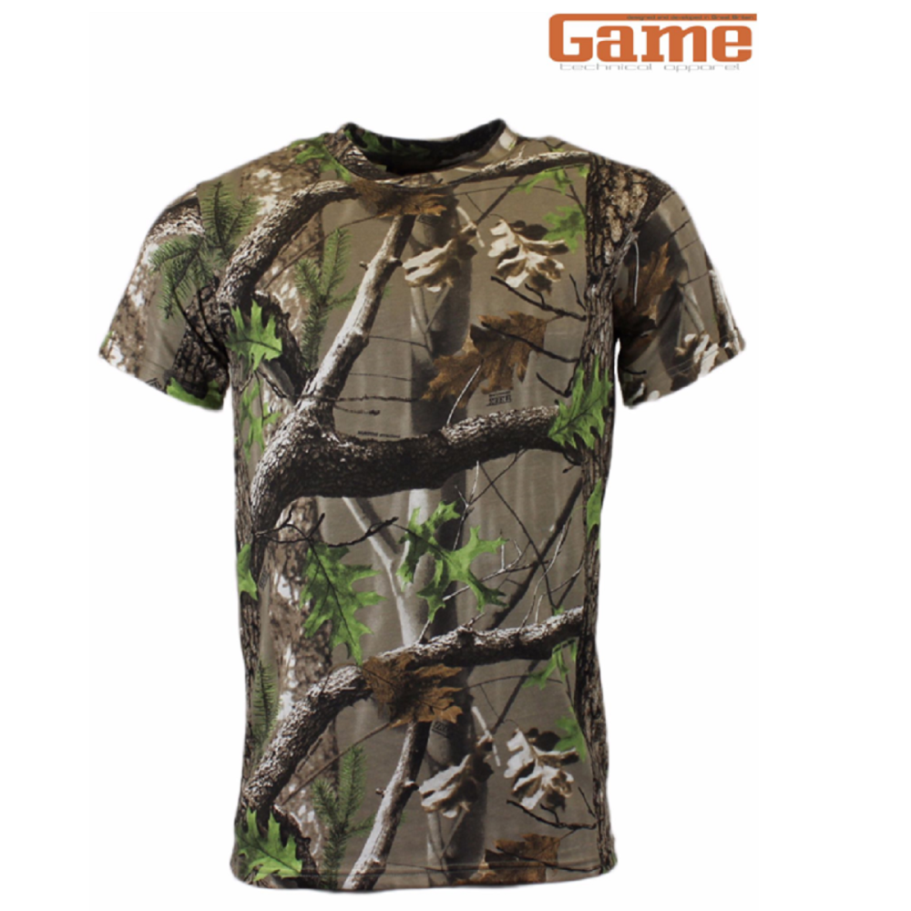 Game Trek Camouflage Short Sleeve T-Shirt