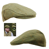Men's Game Derby Tweed Shooter's & Beater's Flat Cap
