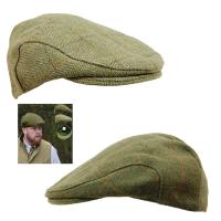Men's Game Derby Tweed Shooter's & Beater's Flat Cap