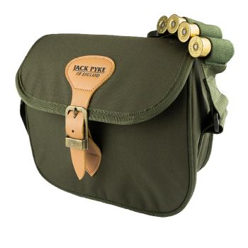 Jack Pyke Speed Loader Cartridge Bag in Evolution Camo or Hunters Green.