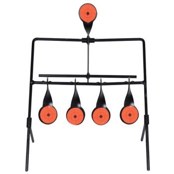 Shooting Practice / Large Rifle Practice Self Resetting Metal Spinner Target