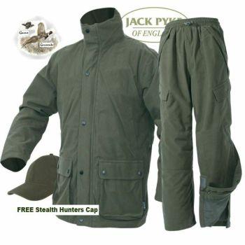 Hunters Green Waterproof, Breathable, Windproof Stealth Shooting Jacket.