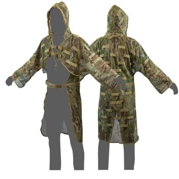 Camouflage Concealment Shooting Stalking Vest