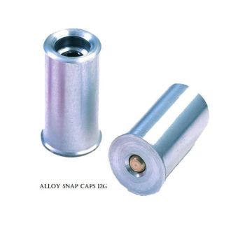Alloy Shot Gun Snap Caps 12G, 20G, .410