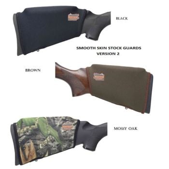 Beartooth rifle stock comb raising smooth skin kit, Brown, Black or Camo.