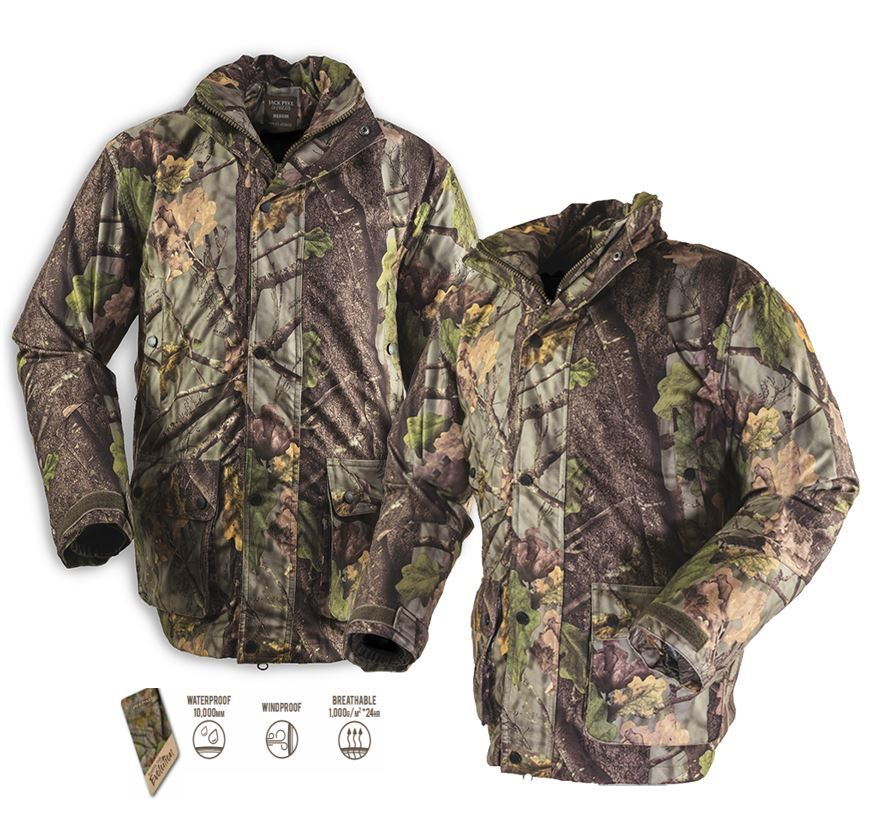 Hunter's Stealth Evolution Camouflage Jacket from Jack Pyke