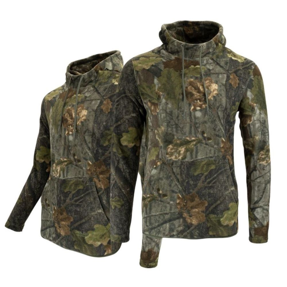 Jack Pyke Fieldman Fleece Hoodie / Pullover in Evolution Camouflage