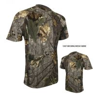 Jack Pyke Quick Wick English Oak Evolution Camouflage T Shirt