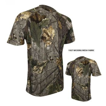 Jack Pyke Quick Wick English Oak Evolution Camouflage T Shirt