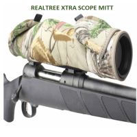 Realtree XTRA Beartooth Rifle Scope Mitt.