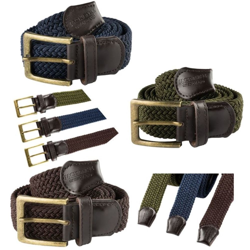 Countryman Trouser Belt. Elasticated hunters belt for all day waist comfort