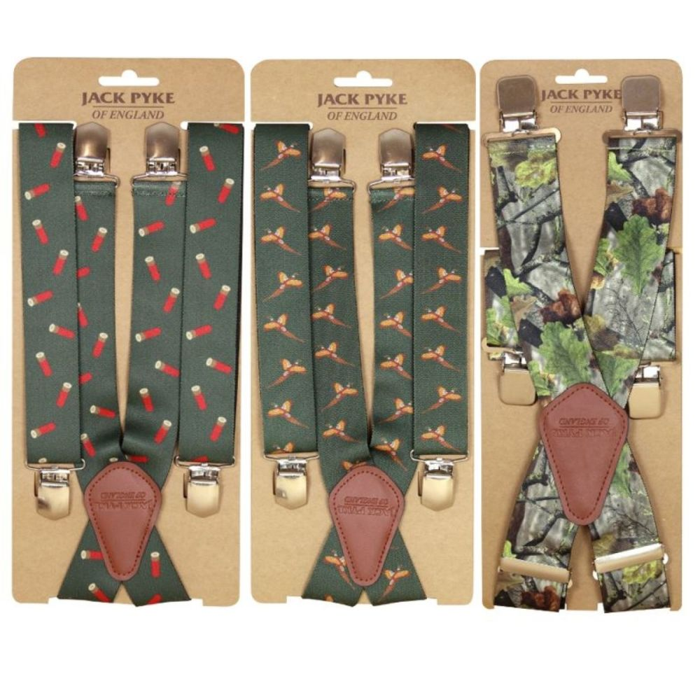 Elasticated Shooting and Hunting Braces
