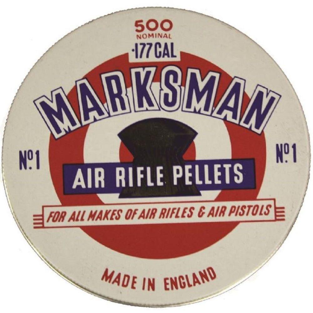 Marksman Air Rifle Pellets dome .177, 500 Pellets
