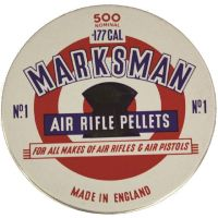 Marksman Air Rifle Pellets dome .177, 500 Pellets