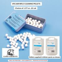 VFG Air Rifle / Air Gun Cleaning Pellets .177 x  100 felt pellets
