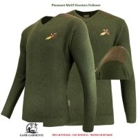 Jack Pyke Green Game Shooting Jumper / Pullover with Pheasant Logo.