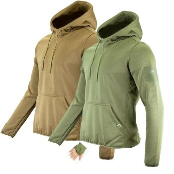 Viper Tactical Fleece Hoodie in Green or Coyote Brown