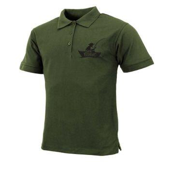 "Mens ""Gone Fishing"" Polo Shirt"