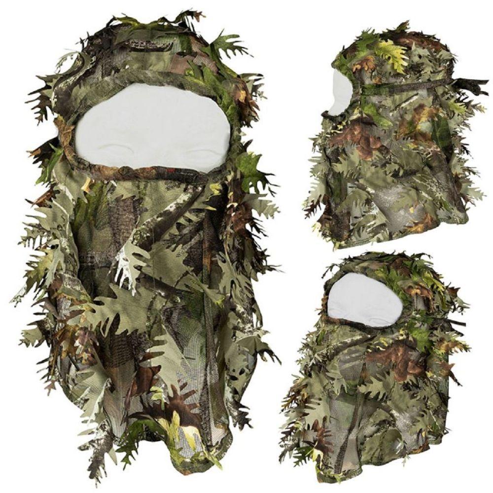 3d Balaclava Light leaf concealment system balaclava